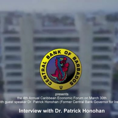 Interview with Dr. Patrick Honohan