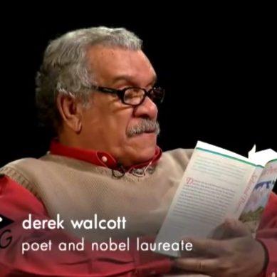Nobel Laureate Derek Walcott on his life and work