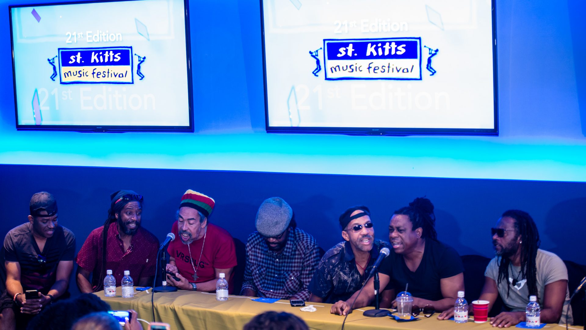 St. Kitts Music Festival - Friday Press Conference, June 23 2017