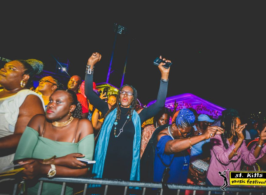 St. Kitts Music Festival - Friday Night performances, June 23 2017
