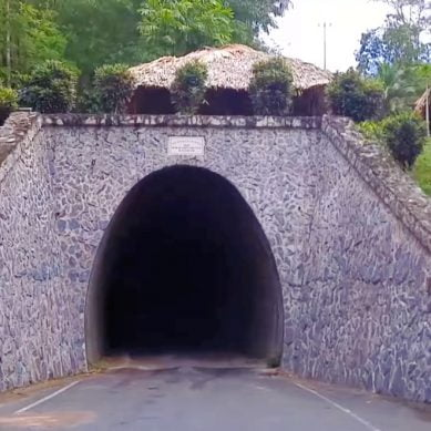 Knollys Tunnel in Trinidad with CaribbeanPot