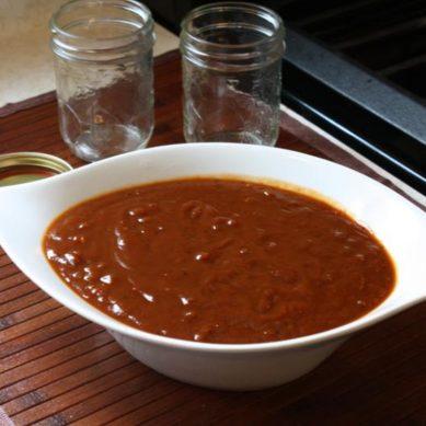 Tamarind BBQ sauce with CaribbeanPot
