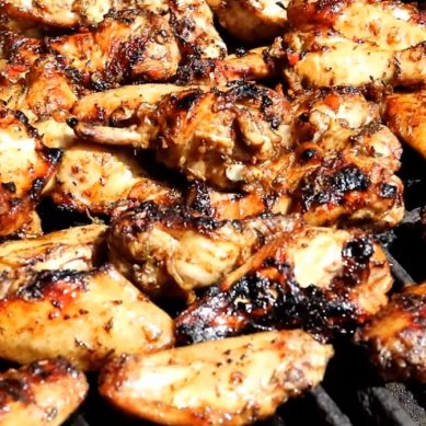 Ultimate Jerk Chicken Wings with Caribbean Pot