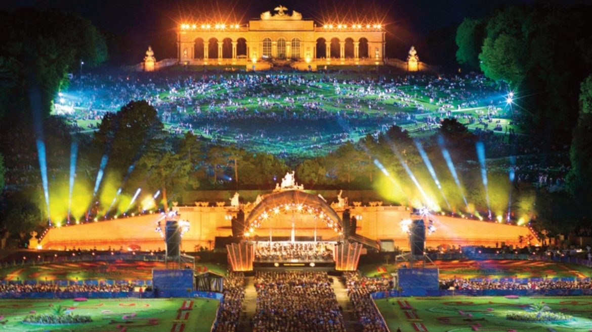 Vienna Philharmonic Orchestra Summer Night Concert 2017 at 8pm