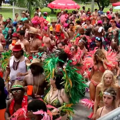 Crop Over 2017 Grand Kadooment with CaribbeanPot