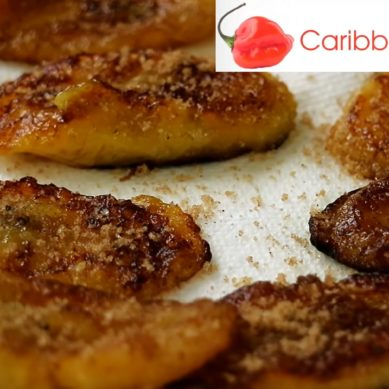 Cinnamon Ginger Brown Sugar Plantain with CaribbeanPot