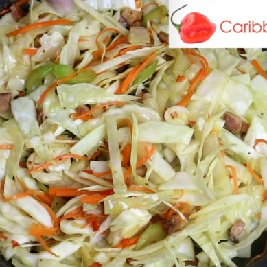 Flavorful Cabbage With Ham with CaribbeanPot