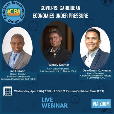 CBU Webinar on COVID-19: Caribbean Economies Under Pressure