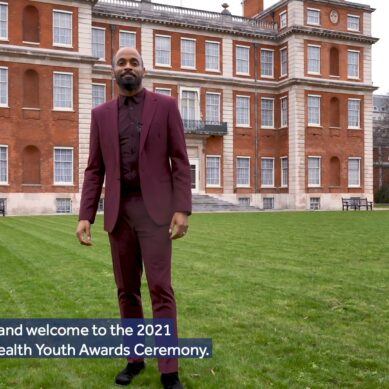 Commonwealth Youth Awards ceremony 2021