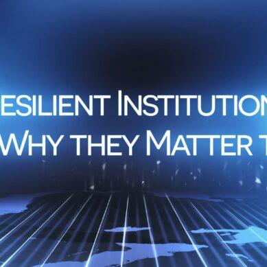 Caribbean Economic Forum-Resilient Institutions